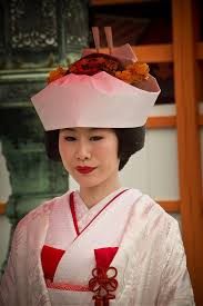 a traditional japanese wedding in miyajima