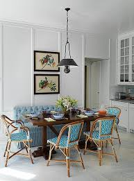 Blue Bistro Chairs Trend Spotted Bistro Chairs