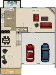 Garage Floor Plans With Bonus Room by Pricing And Floor Plans Pebble Creek Village Townhomes And