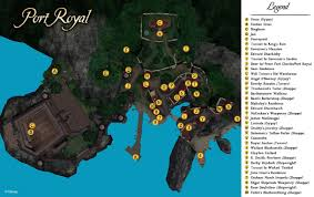 The Caribbean Map by New Port Royal Map Pirates Of The Caribbean Online Fansite U0026 Forums