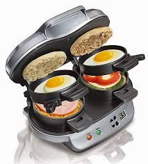 rogeriodemetrio Hamilton Beach dupla Breakfast Sandwich Maker