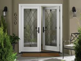 Stained Glass Door Panels by Modern Concept White Single Front Doors And Way Door With Brown