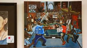Image Gallery Controversial Paintings - controversial cops as pigs painting officially coming down at capitol