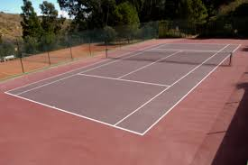 backyard tennis court things you need to know modernlifeblogs