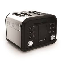 Morphy Richards Kettle And Toaster Set Buy Morphy Richards Accents 242031 4 Slice Toaster Black Free