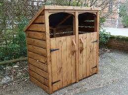 How To Make A Simple Storage Shed by How To Build A Trash Shed U2026 Pinteres U2026