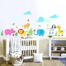 stickers chambre bébé fille pas cher stickers pour chambre bebe deco chambre bebe jungle dacco chambre