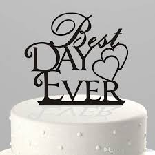 discount wedding supplies happy birthday monogrammed cake topper uk wholesale wedding