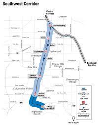 denver light rail expansion map denver union station fastracks skyscraperpage forum