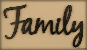 home decor family signs primitive country home wall decor black family word sign
