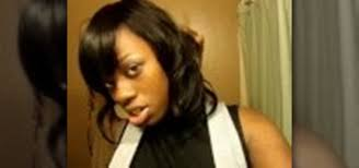 sew in weaves with bangs how to do a full head sew in weave hairstyling wonderhowto
