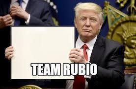 Rubio Meme - meme maker trump sign generator