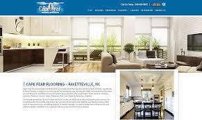 cape fear flooring portfolio biz tools one web design