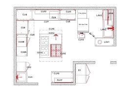 plans cuisine plan de cuisine en u cuisine en u plan plan de cuisine en granit