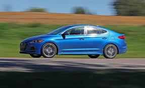 hyundai elantra 1 8 fuel consumption 2017 hyundai elantra sport in depth model review car and driver