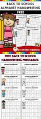 zaner bloser writing paper printable best 25 kindergarten handwriting ideas on pinterest handwriting free back to school handwriting alphabet printables