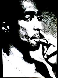 tupac artwork 45 birthday work by 00makaveli00 tupac art explore tupac art and more