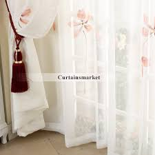 Dollar Tree Curtains Floral White Sheer Curtain
