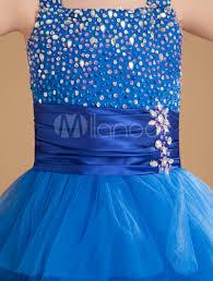 royal blue tulle royal blue tulle flower girl dress milanoo