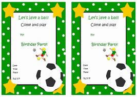 football birthday invitations printable free invitations ideas