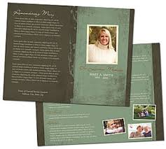 Where To Print Funeral Programs 27 Best Funeral Programs Images On Pinterest Funeral Funeral