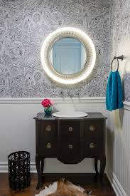 bathroom with wainscoting ideas vanity dark wood wall mount vanity with granite countertop and