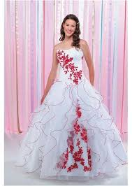 Red And White Wedding Dresses 115 Best Black Red And White Wedding Dresses Images On Pinterest