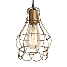hanging light not hardwired journee home mattie 6 in hard wired iron wire pendant light with