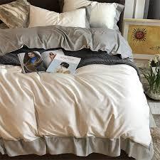 click to buy u003c u003c chausub solid color bedding set 4pcs 100 satin