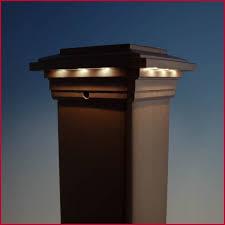trex post cap lights solar light deck post caps luxury solar post cap light for trex