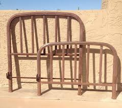 top antique iron bed frame design bed and shower decorate an