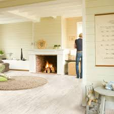 Quick Step 950 Laminate Flooring U1235 White Brushed Pine Planks Beautiful Laminate Wood