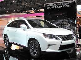 2013 lexus rx 350 new lexus launches the next generation rx 350 f sport image 7 auto