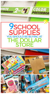 9 supplies you should be buying at the dollar store the