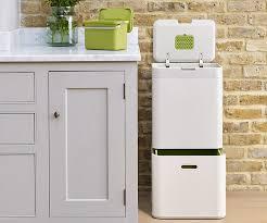 kitchen bin ideas joseph joseph totem is a recycling kitchen bin that makes