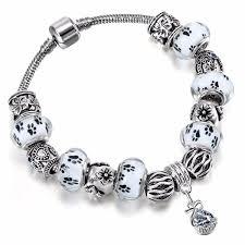 european charm bracelet beads images Mala bead paw bracelet 330shoppers jpg