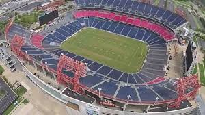 nissan titan nashville tn drone nashville flying over lp field home of the tennessee