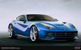 blue ferrari wallpaper ferrari f12 renderings by motorward com