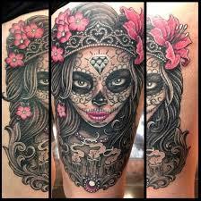 sugar skull mask sugar skull tattoos egodesigns this one