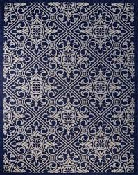 Xl Outdoor Rugs Blue Pattern Rug Indoor Outdoor Area 5 X 7 8 X 10 9 X 9 Or 9 X 13