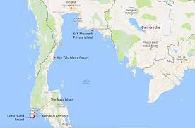 Map Of Resorts World Manila by 5 Amazing Resorts On Their Own Islands In Thailand Tropical
