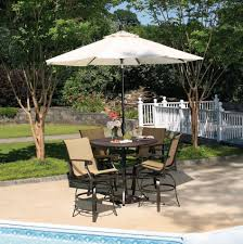 High Top Patio Furniture Set by Furniture White Patio Table Canada Lowes Outdoor Furniture