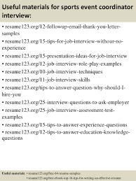 event coordinator resume samples eliolera com