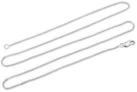 necklaces for silver chain necklace sterling silver necklace chain 18