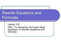 i can solve for a specific unknown variable ppt video online