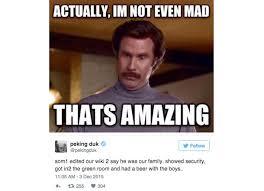 Wikipedia Meme - legendary peking duk fan uses fake wikipedia post to sneak backstage