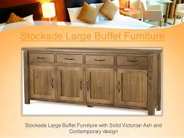 buffet table furniture idea