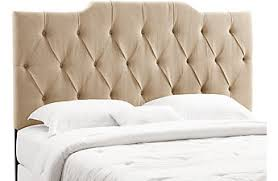 Linen Upholstered King Headboard Headboards Metal Wood U0026 Tufted Bed Heads