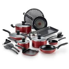 amazon black friday tfal t fal simply cook nonstick c507sk dishwasher safe cookware 20 pc