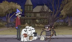 Rigby Halloween Costume Cn Celebrates Halloween Animation Magazine